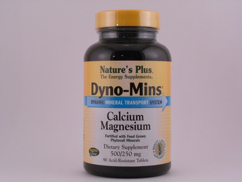 Dyno-Mins Cal/mag 500-250mg 90 Tablets