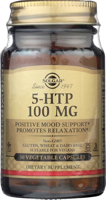 5-HTP 100mg 30 Vegetable Capsules