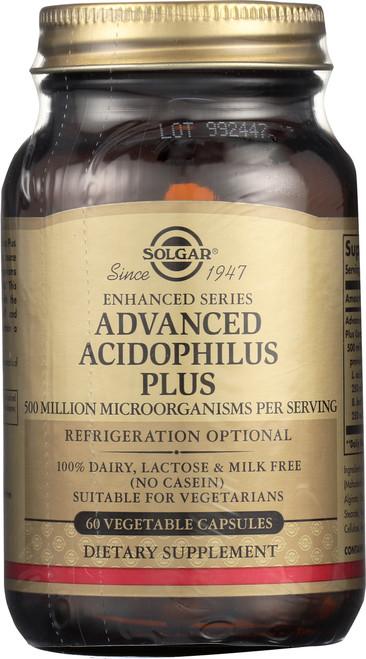 Advanced Acidophilus Plus 60 Vegetable Capsules