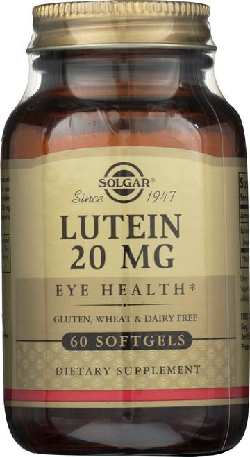 Lutein 20mg 60 Softgels