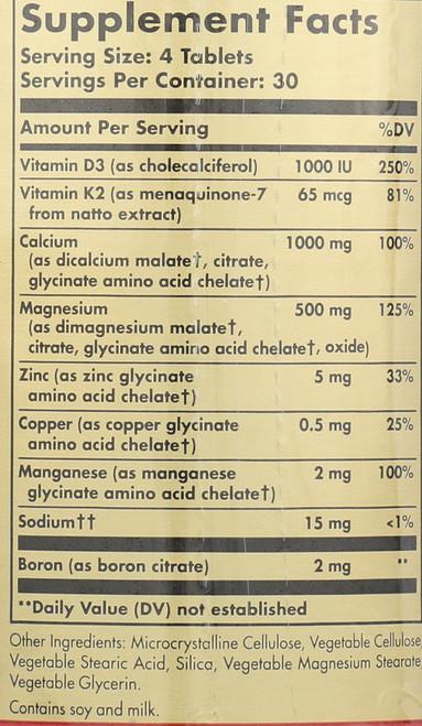 Advanced Calcium Complex 120 Tablets**