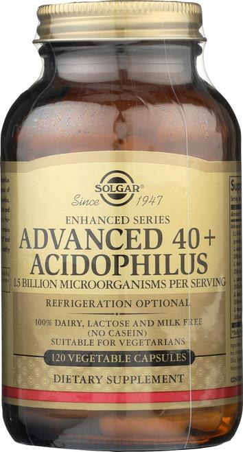 Advanced 40+ Acidophilus 120 Vegetable Capsules