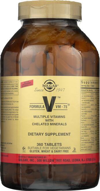 Formula VM-75 360 Tablets