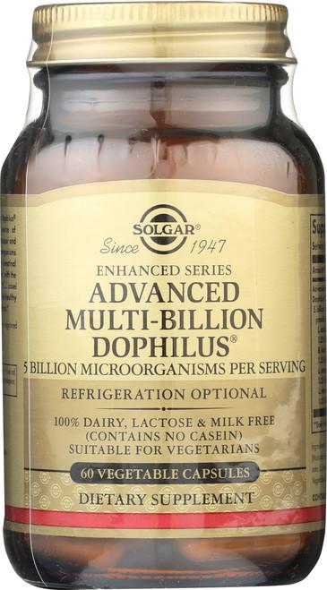 Advanced Multi-Billion Dophilus 60 Vegetable Capsules