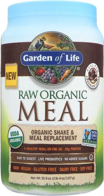 RAW Organic Meal Chocolate 1212g Powder
