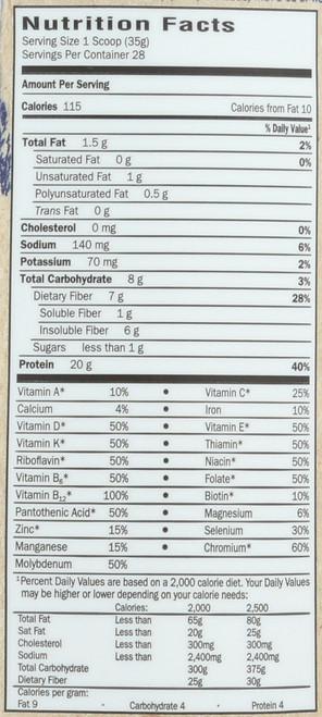 RAW Organic Meal Vanilla  Powder