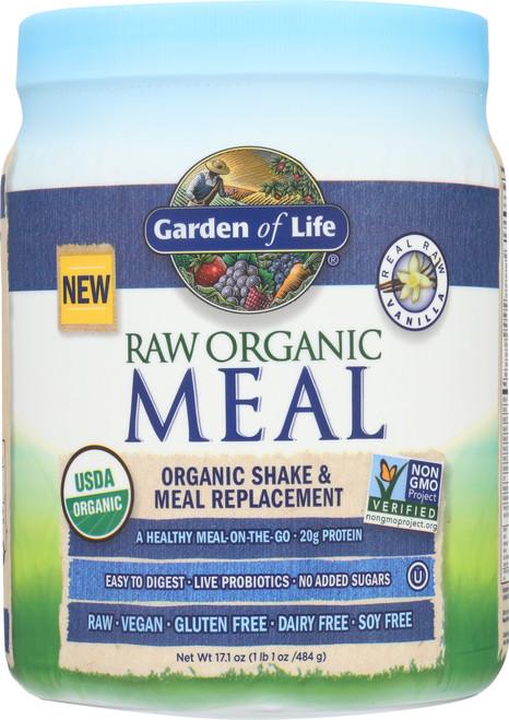 RAW Organic Meal Vanilla (Mini) 558g  Powder