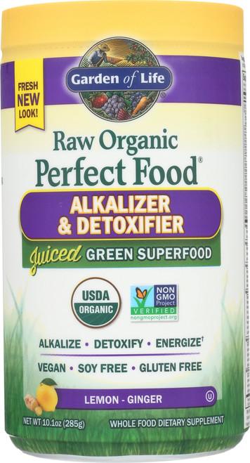 Perfect Food Raw Alkalizer & Detoxifier 285g Powder