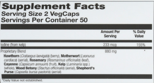 Heart Blend Sp-8 100 Vegetarian Capsules