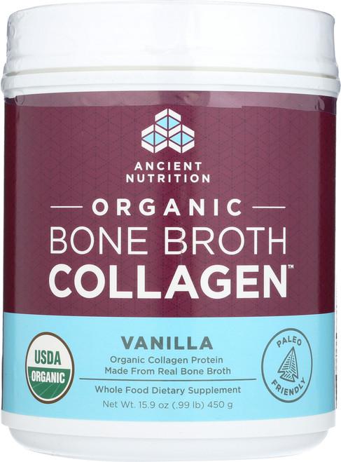 ORGANIC BONE BROTH COLLAGEN - VANILLA
