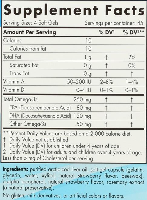 CHILDREN'S™ DHA - STRAWBERRY - 180 SOFT GELS
