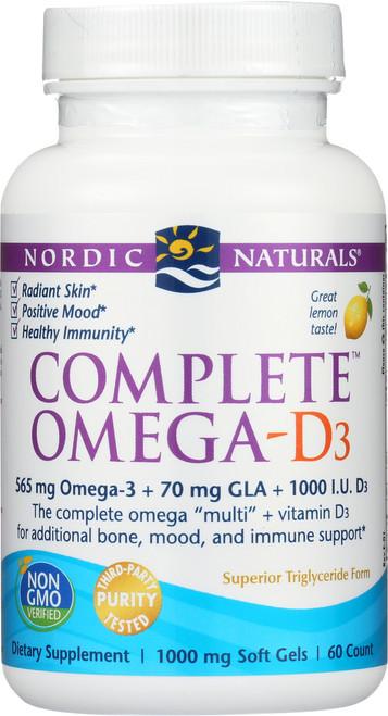 Nordic Naturals COMPLETE OMEGA-D3
