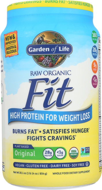 Org. Raw Fit - Original Double Size 854G Powder