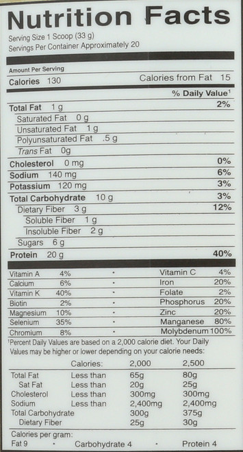 Protein & Greens - Lightly Sweet 651G Powder
