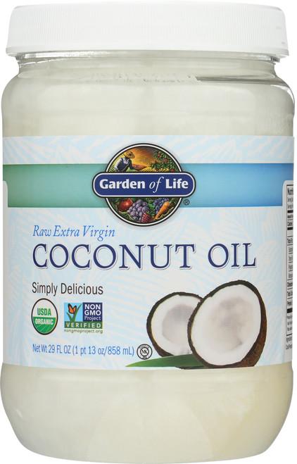 Raw Organic Extra Virgin Coconut Oil 29oz