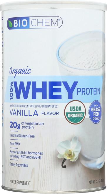100% Whey Protein Vanilla Protein Supplement 12.7 Oz
