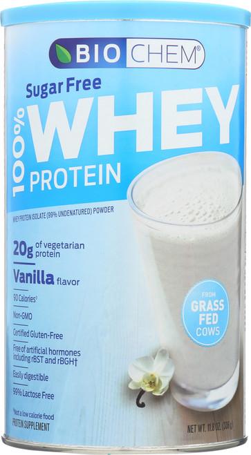 100% Whey Protein Vanilla Vegetarian 11.8 Oz