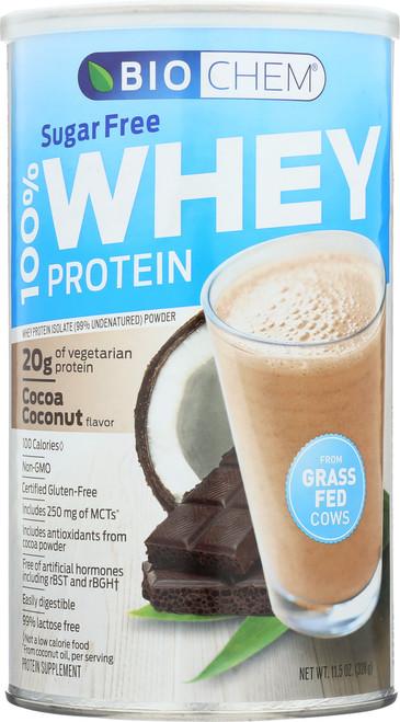 Whey Protein Cocoa Coconut Sugar Free 11.5 Oz