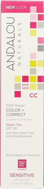 1000 Roses® Color + Correct Sheer Tan Spf 30