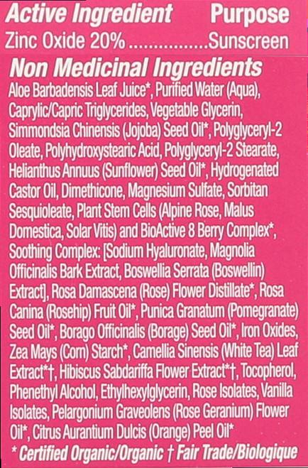 1000 Roses® Color + Correct Sheer Tan Spf 30 Sensitive 2 Fl oz 58 Ml