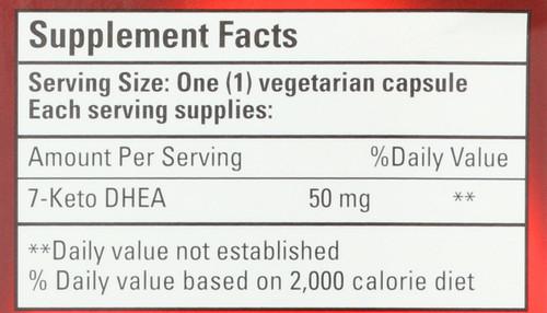 7-Keto Dhea 50Mg 50 Vegetarian Capsule
