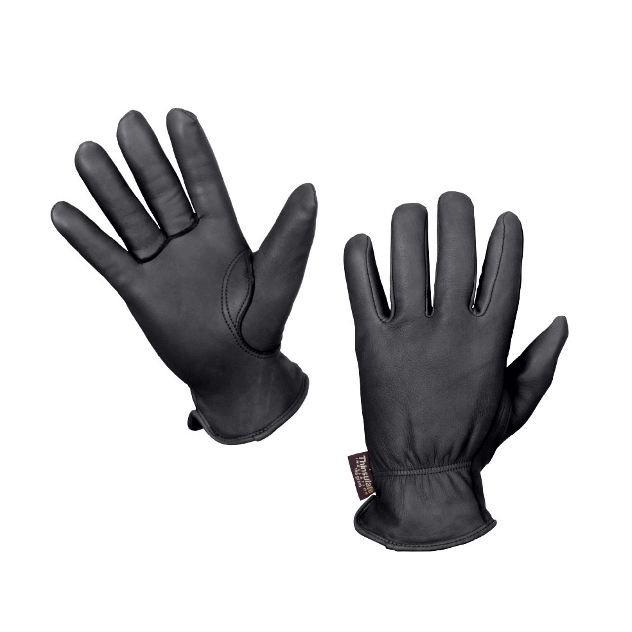 tough duck thinsulate lined deerskin glove 2 pack hero outdoors