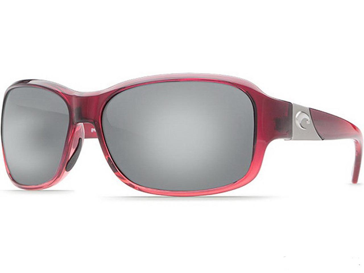 60904e3958 Costa Del Mar - Inlet Polarized Sunglasses (Color  Pomegranate   580p  Copper Silver Mirror) - Hero Outdoors