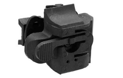 52c92848580 Light Mount for Airsoft Bump Helmets Series - Black - Hero Outdoors