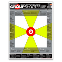 Group Shooter Pistol Handgun Diagnostic Paper Shooting Targets by Thompson