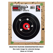 Small HALO Reactive Splatter Gun Shooting Targets Demonstration