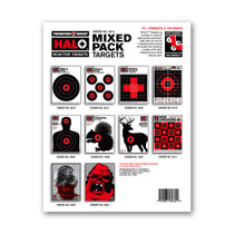 HALO Reactive Splatter Gun Fun Shooting Targets Mix Pack by Thompson
