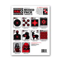 HALO Reactive Splatter Gun Fun Shooting Targets Mix Pack by Thompson