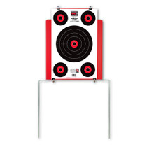 Quik-Stand Target Stand & 5 HALO Reactive Splatter Shooting Targets by Thompson Demo