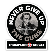 Patrick Henry 2nd Amendment Gun Rights Poster by Thompson Target