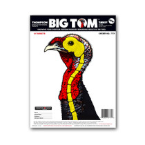 "Life-Size Turkey 9""x12"" Paper Hunting/Shooting Targets by Thompson"