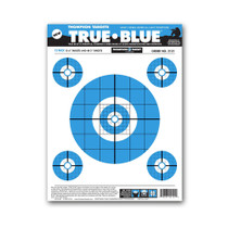 "True Blue 9""x12"" Paper Bullseye Shooting Targets by Thompson"
