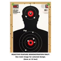 HALO Reactive Splatter Shooting Target Demo