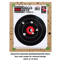 Small HALO Reactive Splatter Gun Shooting Target Demonstration