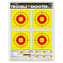 Trouble Shooter Handgun Diagnostic Paper Shooting Targets by Thompson