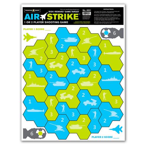 Air Strike Two Player Paper Shooting Game Fun Gun Targets by Thompson
