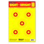 "Sight Bright 12.5""x19"" Paper Bullseye Shooting Targets by Thompson"