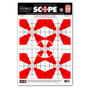 "Scope Alignment/Sight-In 12.5""x19"" Paper Shooting Targets by Thompson"