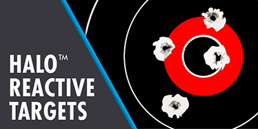 HALO Reactive Splatter Thompson Targets for Shooting. Assorted rifle, pistol, and shotgun shooting targets