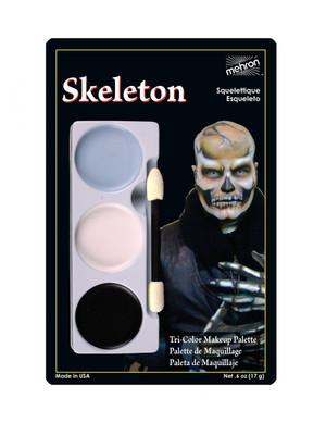 Skeleton - Tri-Color Character Makeup Palette