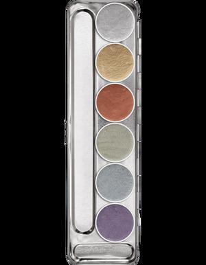 Aquacolor Metallic Palette - 6 Color