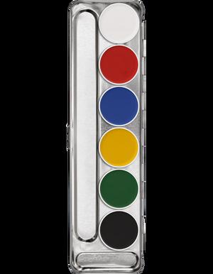 Aquacolor Palette - 6 Color