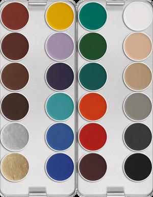 Aquacolor Palette - 24 Color
