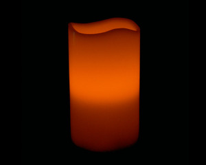 5″ RC Wax Pillar Candle