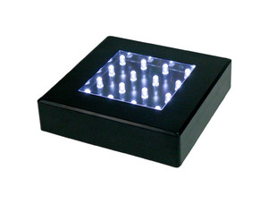 Black Square Light Base