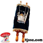 Large Children's Classroom Torah Scrool